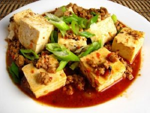 mapo tahu chinese food