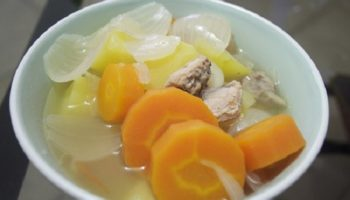 Resep sup wortel dan kentang