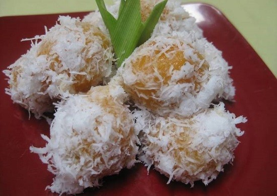 Resep klepon kentang