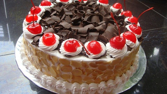 black forest almond
