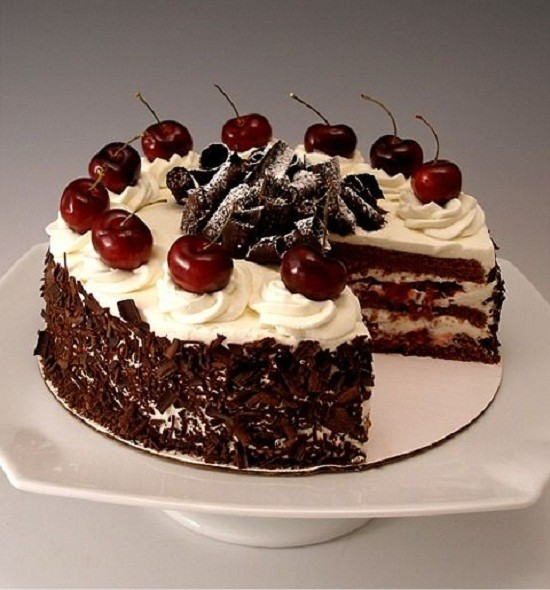 black forest cappuccino