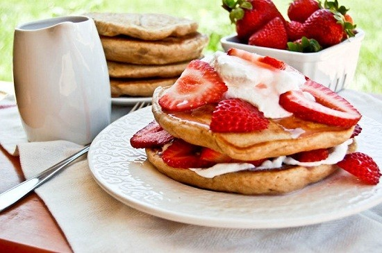 pancake strawberry